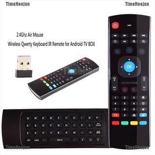 Bàn Phím Không Dây Mx3 Cho Android Tv Box / Smarttv