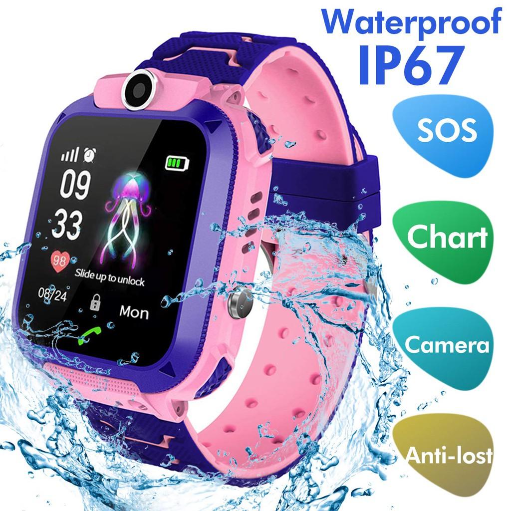 Đồng hồ thông minh Q12 chống nước tốt dành cho trẻ em