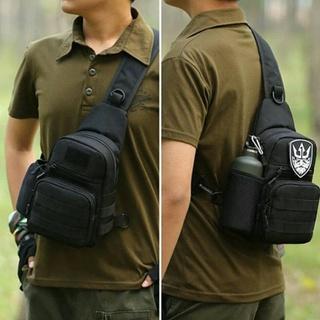Túi Đeo Chéo D5SM9 Nhập Khẩu Cao Cấp Cho Nam Đen