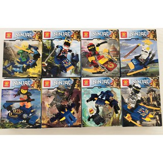 Lego mini ninja cưỡi rồng (8 mẫu)