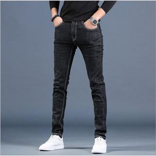 Quần jean nam VNXK vải cao cấp không phai giữ phom, quần dáng côn co giãn nhẹ