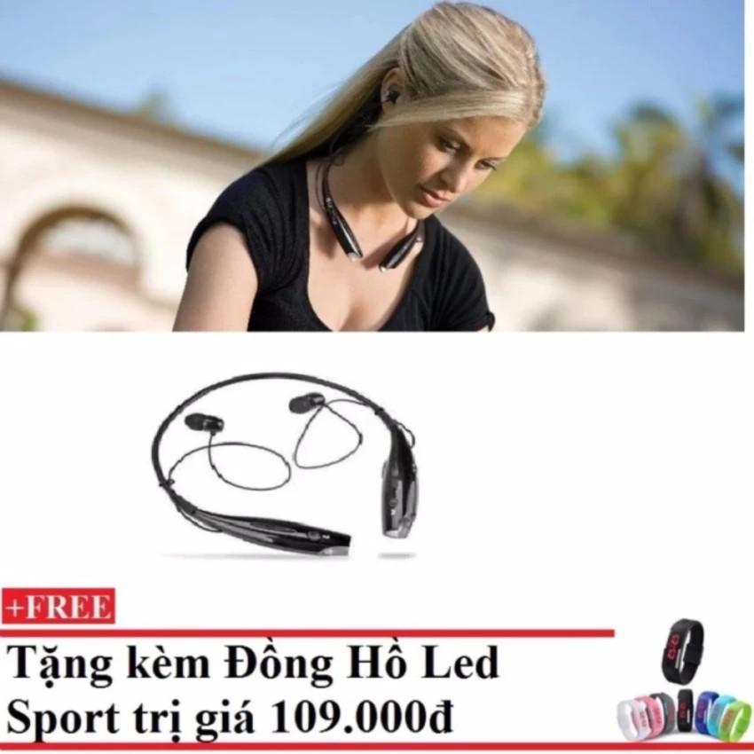 Tai nghe Bluetooth HBS 730 +Tặng Đồng hồ leb Sport -dc1003