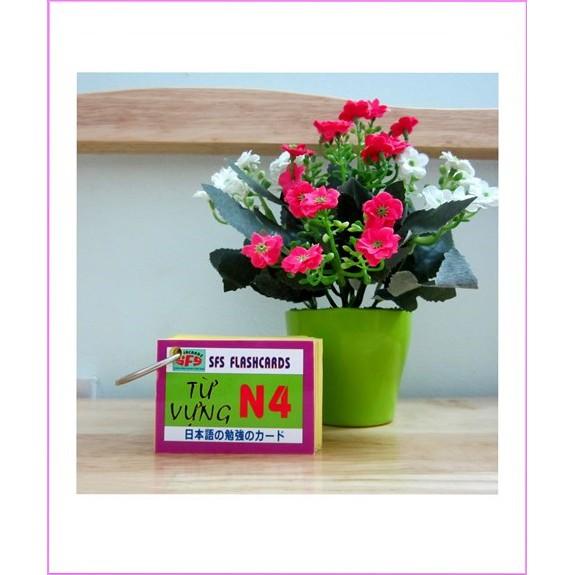 Thẻ Học Từ Vựng Tiếng Nhật N4 – 1 xấp, SFS Flashcard