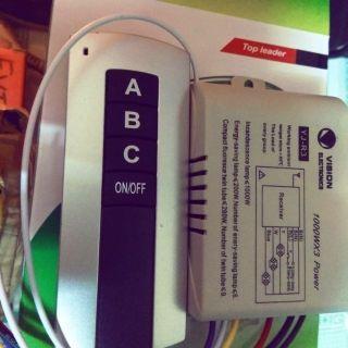 Công tắc điều khiển từ xa 3 đèn remote