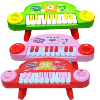[ PIN NHẠC] ĐỒ CHƠI ĐÀN PIANO CÓ CHÂN CHO BÉ