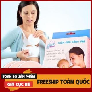 Miếng lót thấm sữa bằng vải tiết kiệm, giặt được Good Mama ( Hộp 8 miếng ) thumbnail