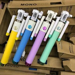 [Mã ELORDER5 giảm 10k đơn 20k] Gậy chụp hình tự sướng Mono pod- xi măng cho iphone (jack liting)- Màu giao ngẫu nhiên.