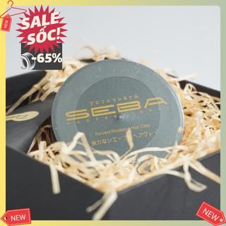 Sáp vuốt tóc 🎁 Wax vuốt tóc Seba CHÍNH HÃNG JAPAN 80g giữ nếp tự nhiên (DÙNG >8 THÁNG) – Keo vuốt tóc chính hãng