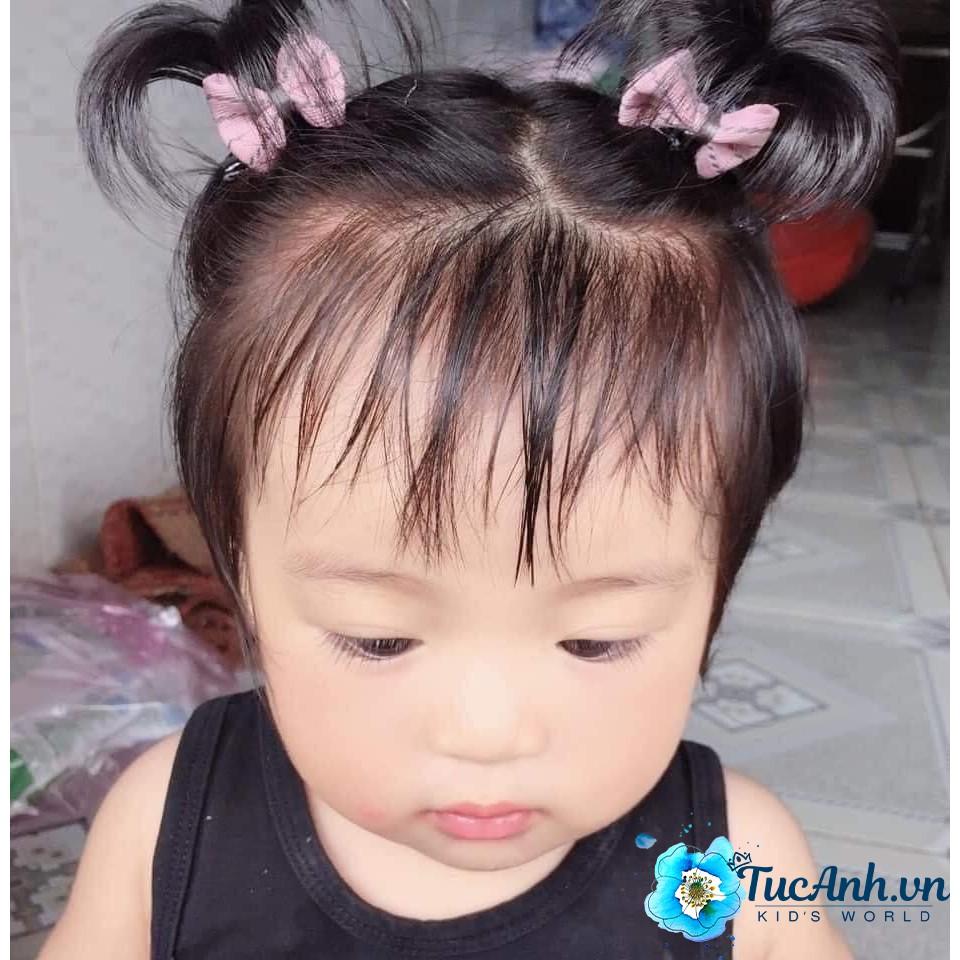 [Mã SKAMCLU7 giảm 10% cho đơn từ 0Đ] Kẹp Tóc Giả Cây Dừa Cho Bé Gái - QATE TucAnh