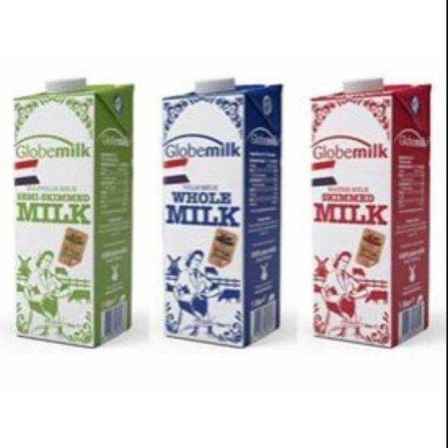 Sữa tươi Globemilk nhập khẩu Hà Lan