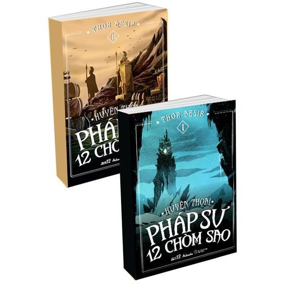 Sách 12 Cung Hoàng Đạo - Huyền Thoại Pháp Sư 12 Chòm Sao (Trọn Bộ 2 Tập)