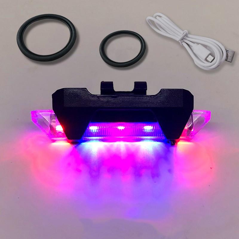 Đèn LED chống thấm nước sạc USB cho xe đạp chất lượng cao