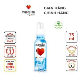 Gel bôi trơn cao cấp Masculan Silk - Ẩm mượt - Tăng độ uyển chuyển - Gốc nước - Không chất bảo quản - An toàn - 75ml thumbnail