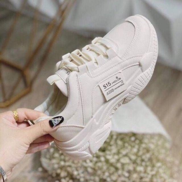 Giày Thể Thao Nữ Trắng S15/ S18 FULL HỘP + SẴN HÀNG RỒI
