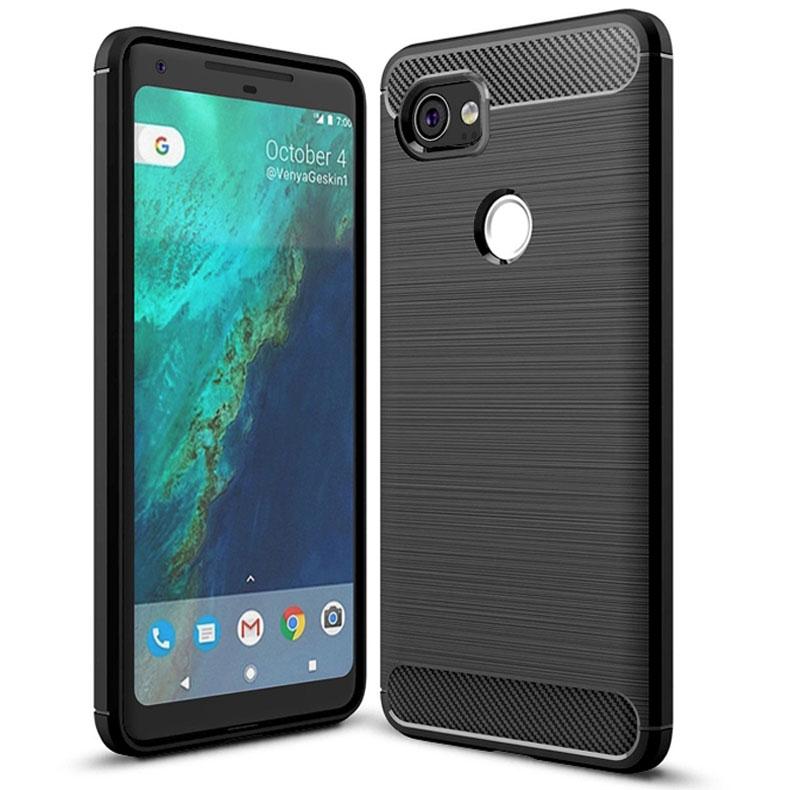 Ốp lưng điện thoại di động Google Pixel XL 2 làm từ sợi carbon chống trơn trượt vỏ điện thoại di động TPU mềm - 22211465 , 3912802088 , 322_3912802088 , 131567 , Op-lung-dien-thoai-di-dong-Google-Pixel-XL-2-lam-tu-soi-carbon-chong-tron-truot-vo-dien-thoai-di-dong-TPU-mem-322_3912802088 , shopee.vn , Ốp lưng điện thoại di động Google Pixel XL 2 làm từ sợi carbo