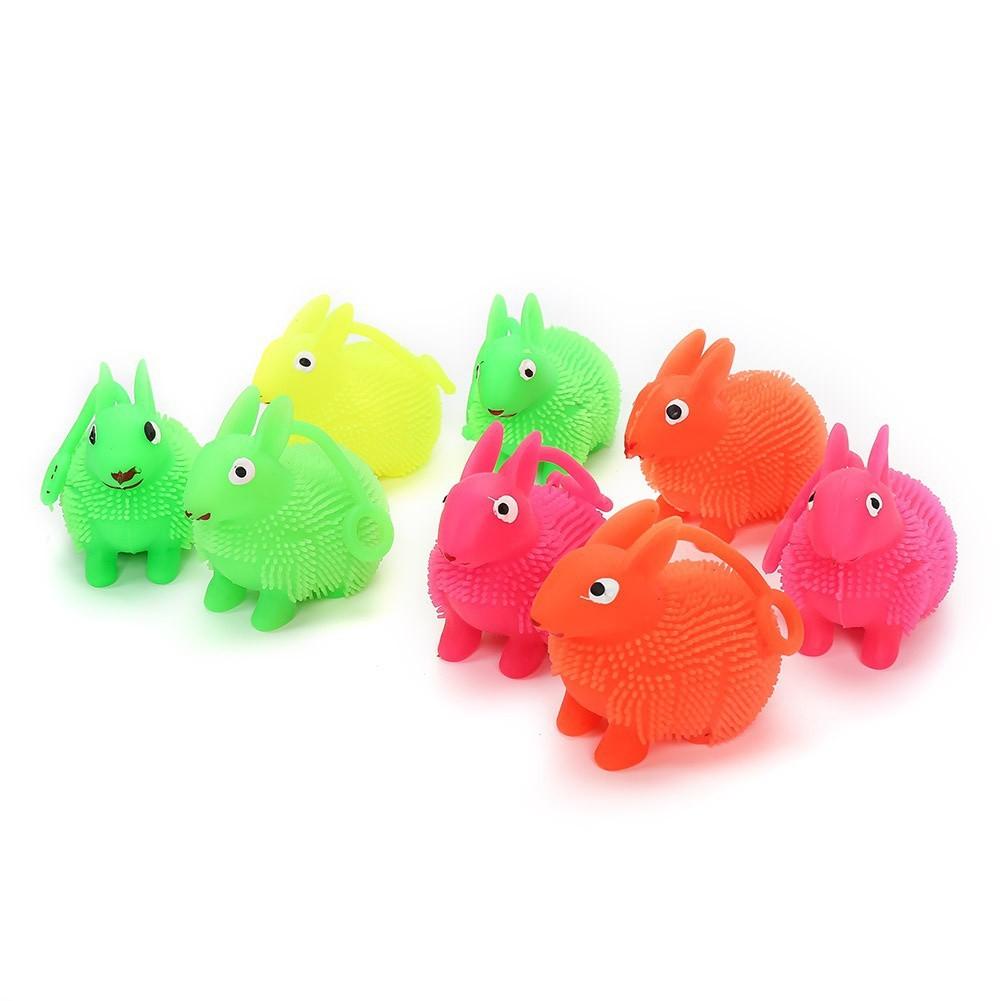 Đồ chơi bóp giảm stress hình con thỏ dạ quang ngộ nghĩnh squishy shoprelc688
