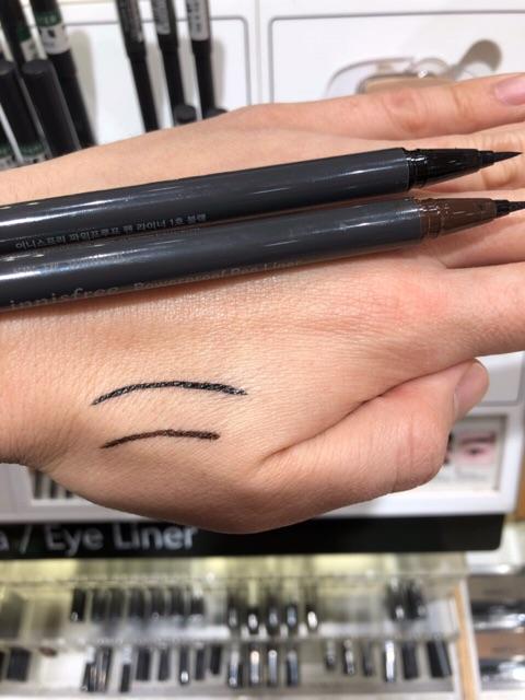 Bút kẻ mắt không thấm nước innisfree powerproof pen liner
