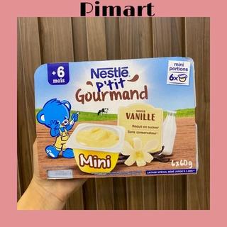 Lốc 6 hộp váng sữa Nestle P tit Pháp (60gr hộp) chính hãng công ty thumbnail