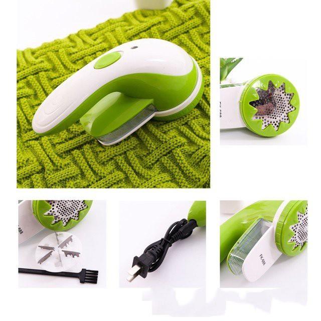 Máy cắt lông xù sạc điện 6 lưỡi dao FK68