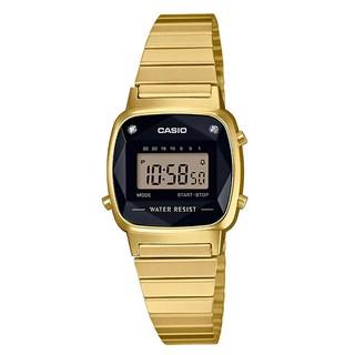 [Mã FARSBR153 giảm 15% đơn 150K] Đồng hồ nữ dây kim loại chính hãng casio LA670WGAD-1DF