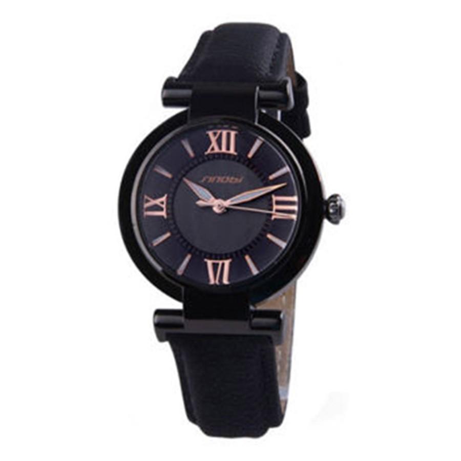Đồng hồ Quartz dây da sang trọng dành cho nữ