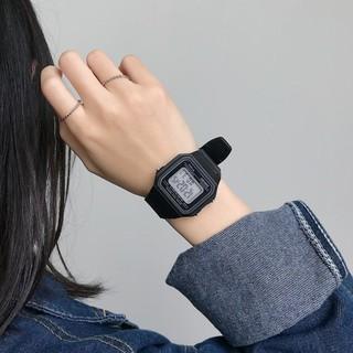 Đồng hồ điện tử nam nữ Sport dây nhựa dẻo phối theo đồ DH11