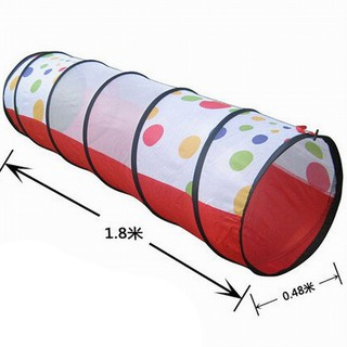 Baby Toy Play Tunnel Tent Children Discovery Crawl Tube Kind choosewho
