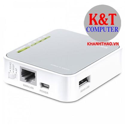 [Mã ELMS5 giảm 7% đơn 300K] Bộ Phát Wifi Di Động Tp-Link MR3020 Chuẩn N 3G/4G