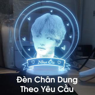 Đèn 3D Khắc Theo Yêu Cầu