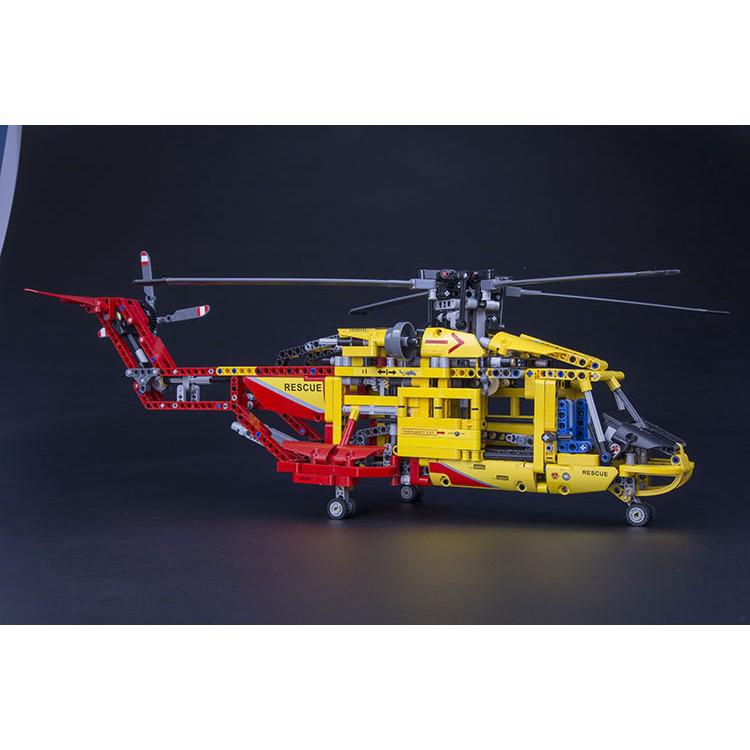 Compatible With 9396 Decool 3357 1056pcs Technic 2 In 1 Helicopter Building
