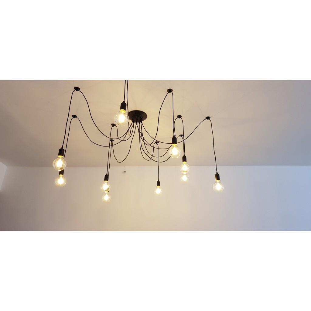 Đèn thả trần kiểu con nhện 10 đui - 8 đui LL-5035 - Chưa Bao Gồm Bóng