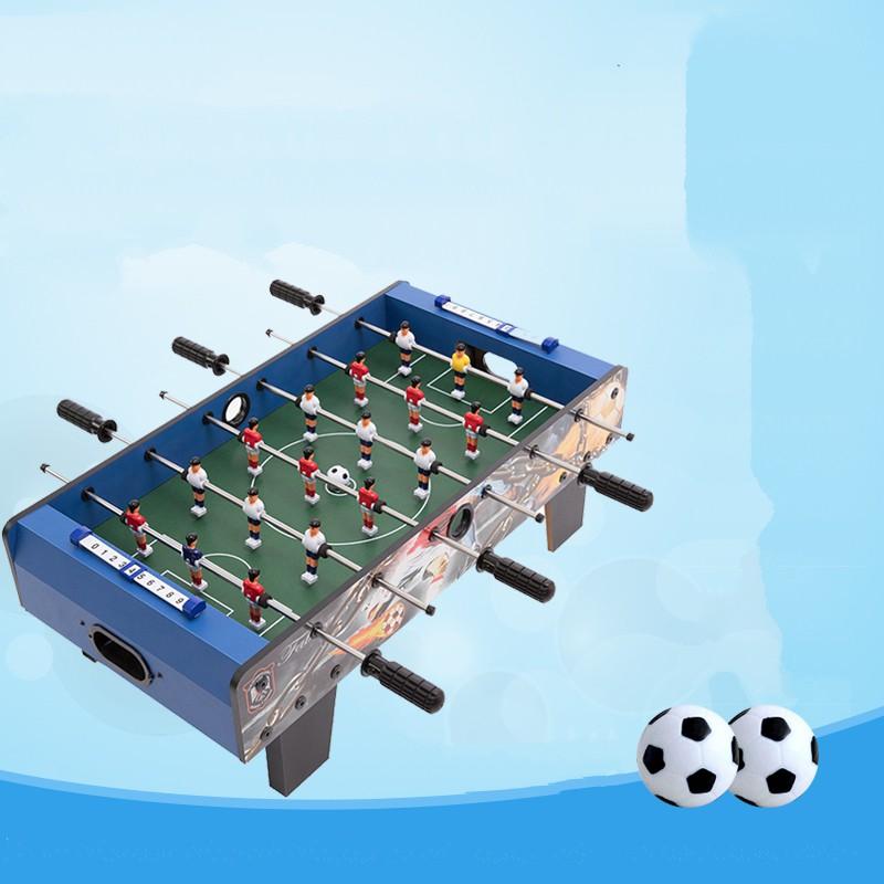 Trò chơi bóng đá mini trong nhà bằng gỗ siêu bền kích thước to 69x37x24cm, thiết kế siêu bền, dành cho nhiều bé chơi