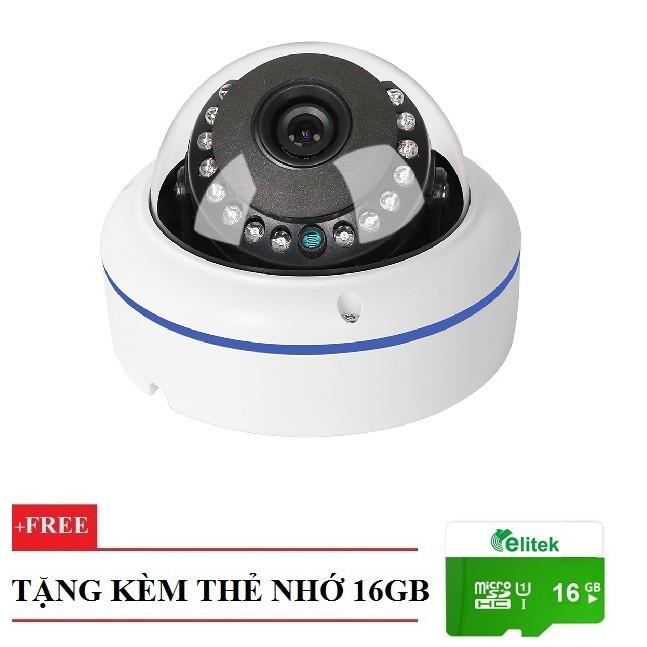 Camera Wifi Elitek Chống Nước 960P + Thẻ Nhớ 16GB