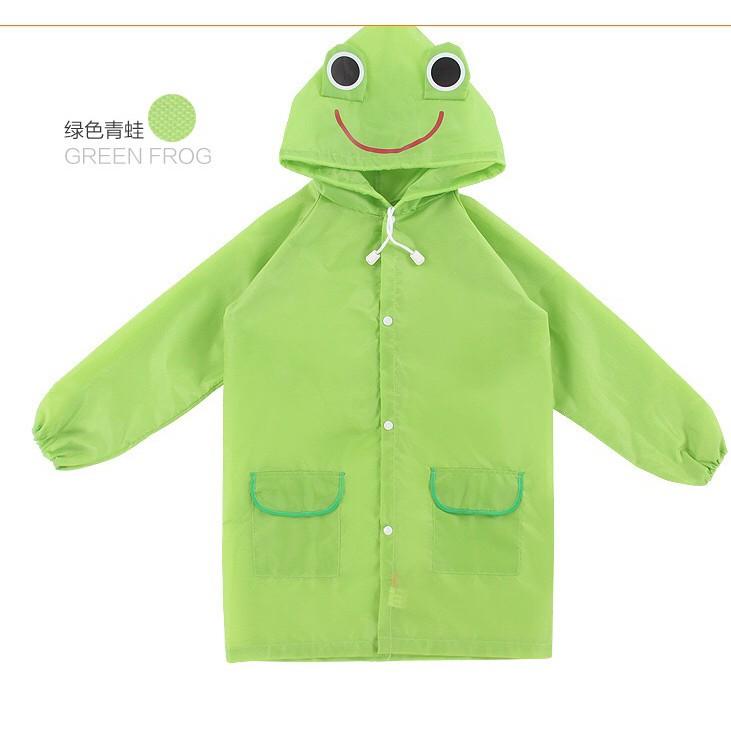 Áo mưa họa tiết hoạt hình cho bé