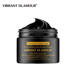 Mặt Nạ Than Tre Lột Mụn Đầu Đen Vibrant Glamour Làm Sạch Sâu Thu Nhỏ Lỗ Chân Lông Dưỡng Ẩm Kiểm Soát Dầu Dưỡng Da 30g