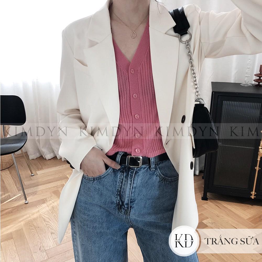 Áo blazer nữ áo vest sang trọng CAO CẤP có đệm vai và lót [KDBL03]