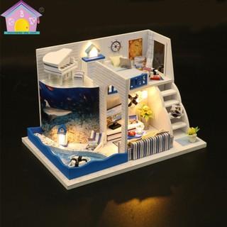 Mô hình nhà gỗ DIY Căn phòng thủy thủ 2