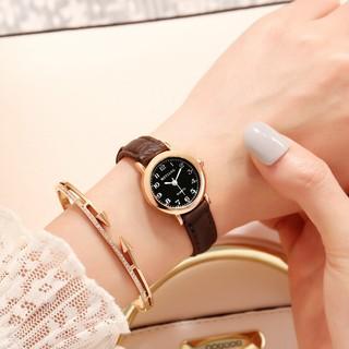 Đồng hồ thời trang nữ Msitanq MS29 mặt số tròn nhỏ xinh xắn, tuyệt đẹp