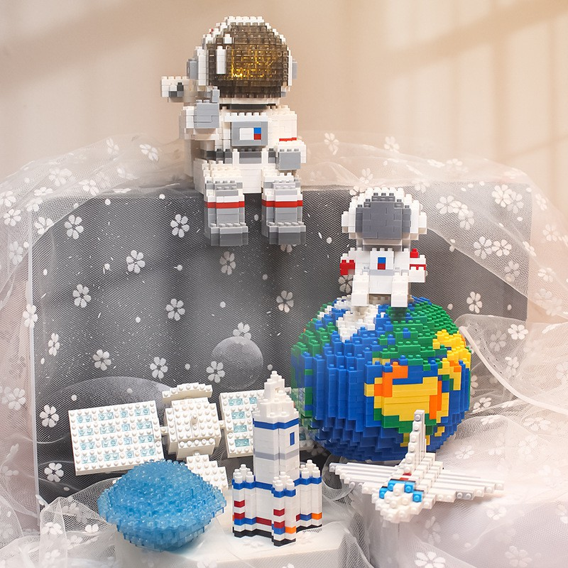 LEGO Space Astronaut Model Toy