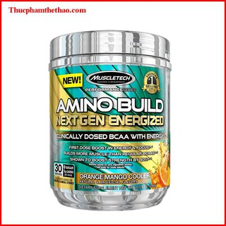Thực phẩm bổ sung BCAAs MuscleTech Amino Build NextGen - 30 lần dùng Hỗ trợ tăng năng lượng, phục hồi và phát triển cơ thumbnail