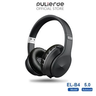 Tai Nghe Không Dây Pulierde EL-B4 Bluetooth 5.0 Hỗ Trợ Thẻ TF FM Radio Có Thể Gấp Gọn