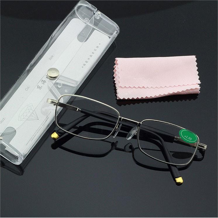 Kính viễn thị cao cấp Nhật Bản mắt THỦY TINH cực sáng và rõ chống rỉ ( KVN33)