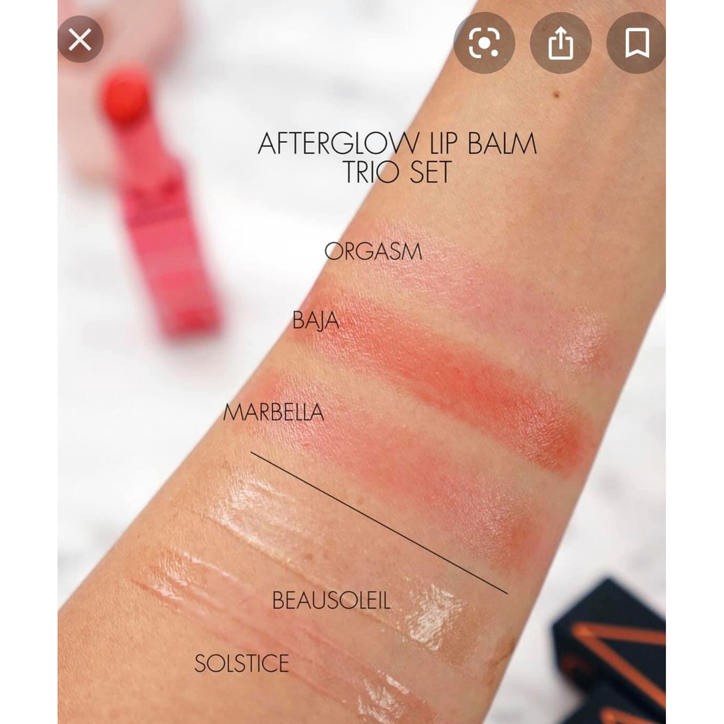 NARS  Son dưỡng môi Afterglow Lip Balm