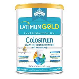 Sữa bột Latimum gold Colostrum 900g