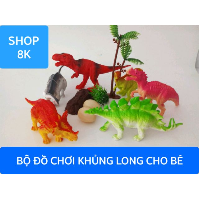 Bộ đồ chơi khủng long cho bé (6712)