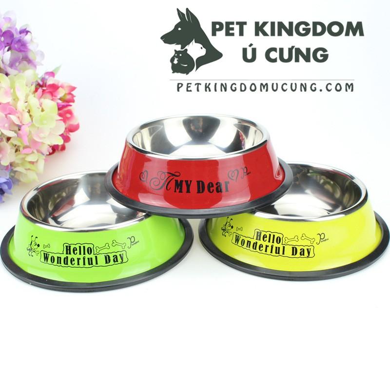 Bát ăn inox chó mèo - 2802535 , 1241099969 , 322_1241099969 , 40000 , Bat-an-inox-cho-meo-322_1241099969 , shopee.vn , Bát ăn inox chó mèo