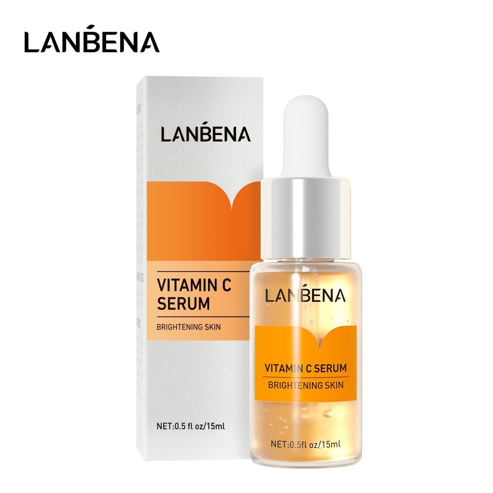 Tinh chất làm trắng LANBENA chứa vitamin C 15ml