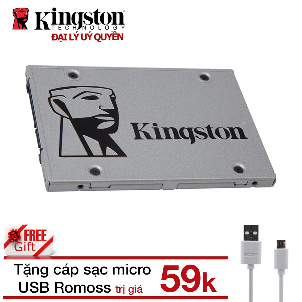 Combo Ổ cứng SSD 120GB NOW A400 Kingston + Cáp...