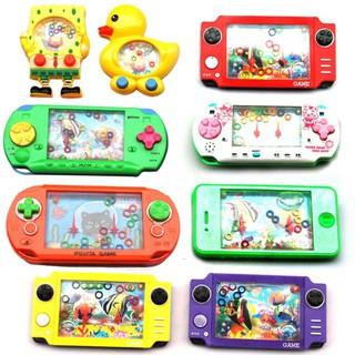 Đồ chơi game trẻ em bấm nước bắn vòng xếp hình nhiều màu-_ảnh thật nhá mã NCG98