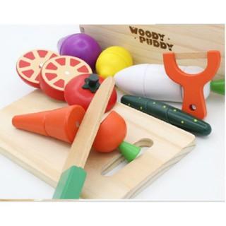 Đồ chơi thông minh Bộ đồ chơi cắt hoa quả xuất Nhật cho bé